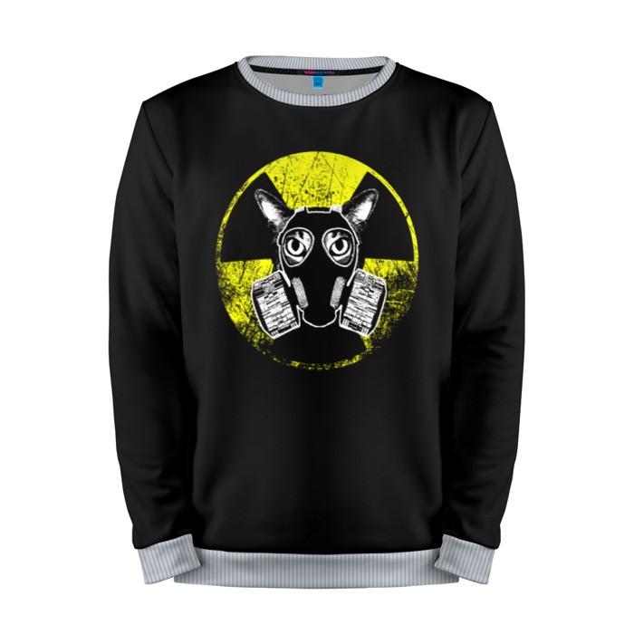 Buy Mens Sweatshirt 3D: Nuke Cat Fallout Radiation merchandise collectibles