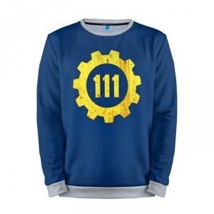 Buy Mens Sweatshirt 3D: Vault 111 Fallout Shelter merchandise collectibles