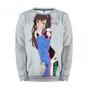 Buy Mens Sweatshirt 3D: D.Va #5 Overwatch merchandise collectibles