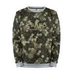 Merchandise Sweatshirt Cs Go Hexatal Camo Counter Strike