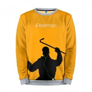 Buy Mens Sweatshirt 3D: iFreeman Half Life Apple crossover merchandise collectibles