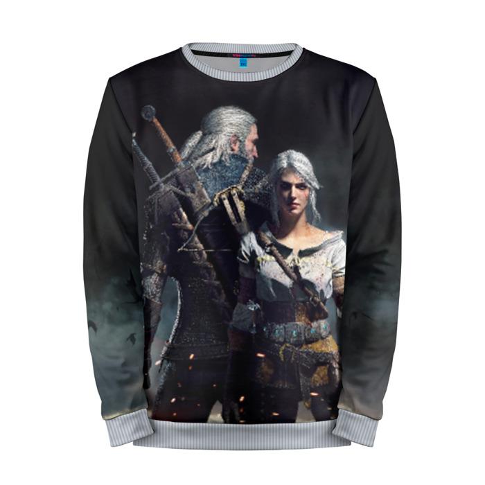 Buy Mens Sweatshirt 3D: Geralt and Ciri The Witcher merchandise collectibles