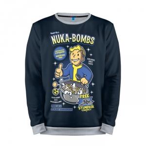Buy Mens Sweatshirt 3D: Nuka Bombs Fallout Merchandise merchandise collectibles