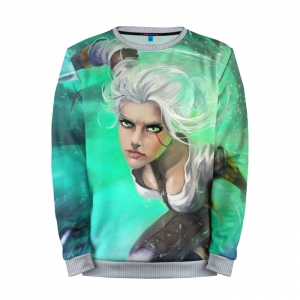 Buy Mens Sweatshirt 3D: Ciri The Witcher Cloth Merchandise collectibles