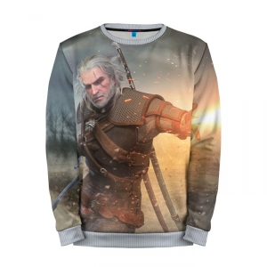 Buy Mens Sweatshirt 3D: Igni sign The Witcher Merchandise collectibles