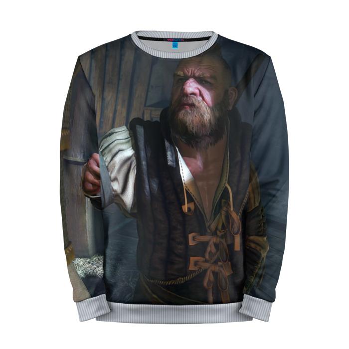 Buy Mens Sweatshirt 3D: Zoltan Chivay The Witcher merchandise collectibles