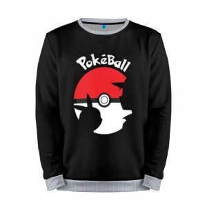 Buy Mens Sweatshirt 3D: Pokeball Pokemon Go merchandise collectibles