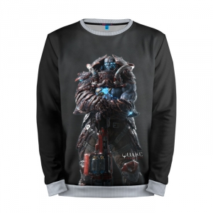 Buy Mens Sweatshirt 3D: Quake Game Shooter merchandise collectibles