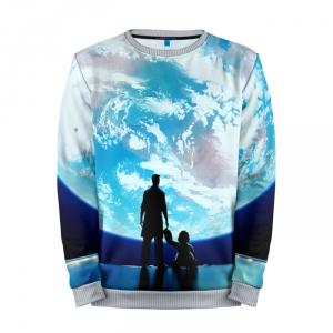Buy Mens Sweatshirt 3D: Earth Overwatch Merchandise collectibles