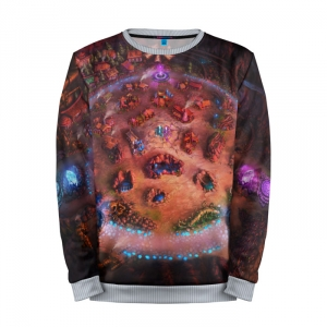 Buy Mens Sweatshirt 3D: League of legends Map merchandise collectibles