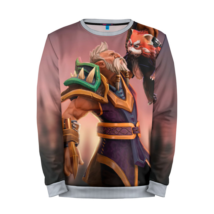 Buy Mens Sweatshirt 3D: Druid Bear Dota 2 jacket merchandise collectibles