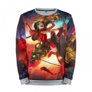 Buy Mens Sweatshirt 3D: Jinx NY League Of Legends merchandise collectibles