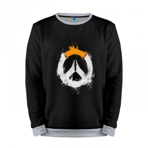 Buy Mens Sweatshirt 3D: Overwatch Logo gear merchandise collectibles