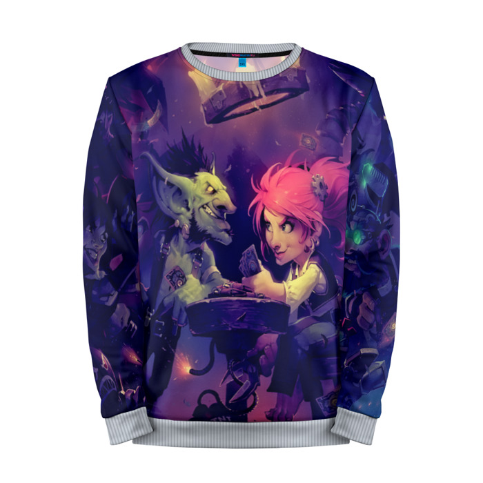 Buy Mens Sweatshirt 3D: Heartstone Heroes Hearthstone merchandise collectibles