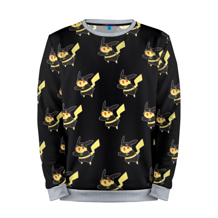 Buy Mens Sweatshirt 3D: Pikachu Pattern 2 Pokemon Go merchandise collectibles