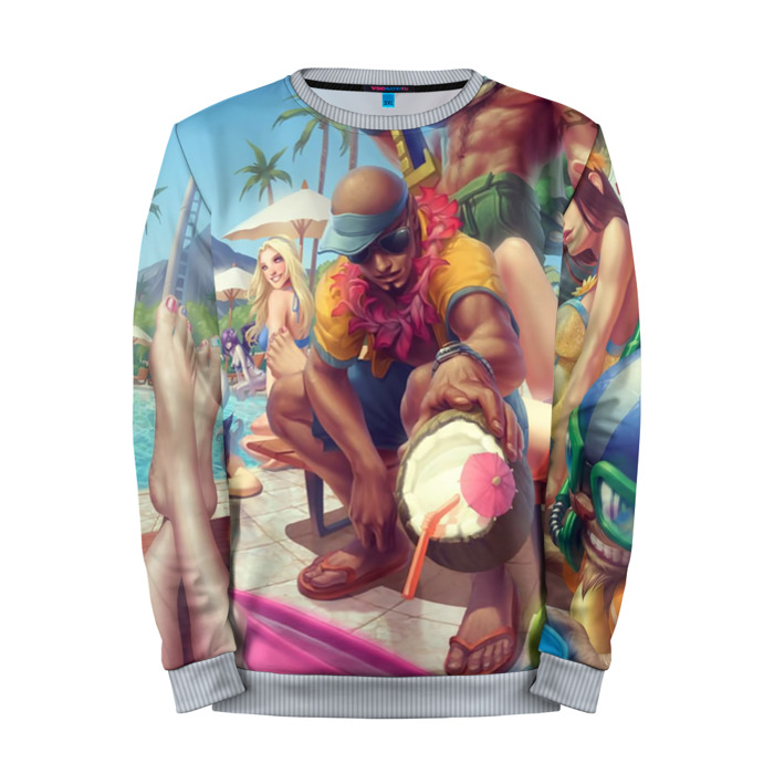 Buy Mens Sweatshirt 3D: Lee Sin League Of Legends merchandise collectibles