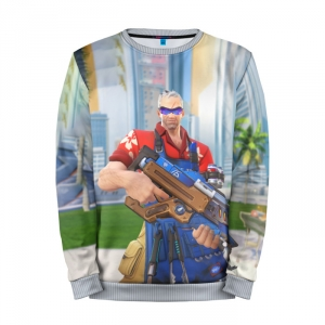 Buy Mens Sweatshirt 3D: Soldier Overwatch merchandise collectibles