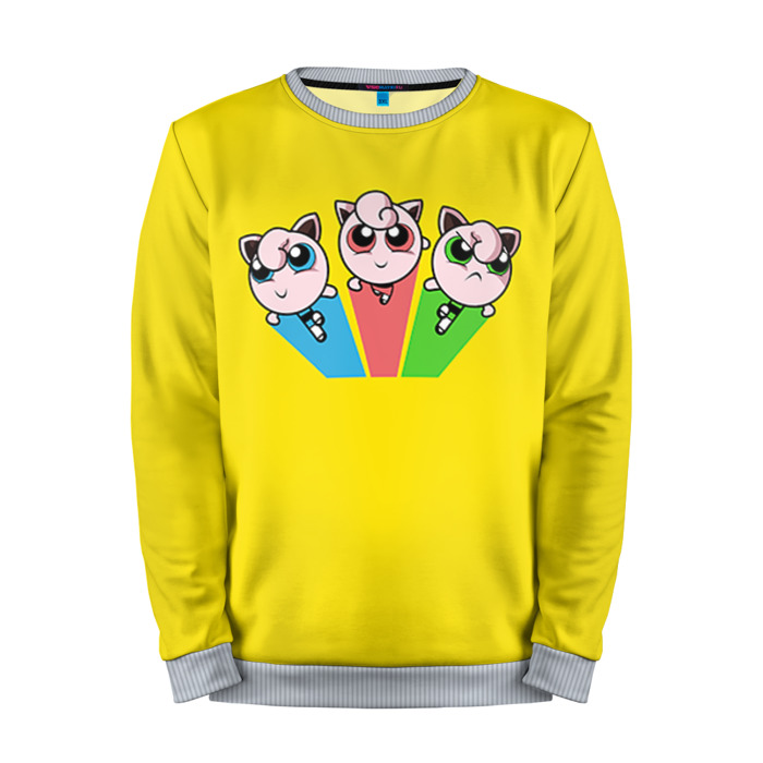 Buy Mens Sweatshirt 3D: Pokemon Go Yellow