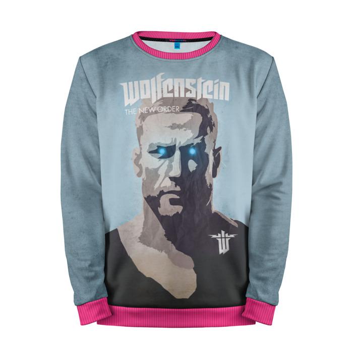 Buy Mens Sweatshirt 3D: Wolfenstein Blazkowicz merchandise collectibles