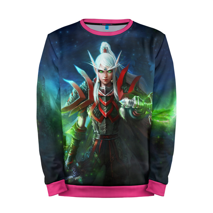 Buy Mens Sweatshirt 3D: Blood Elf World of Warcraft Merchandise collectibles