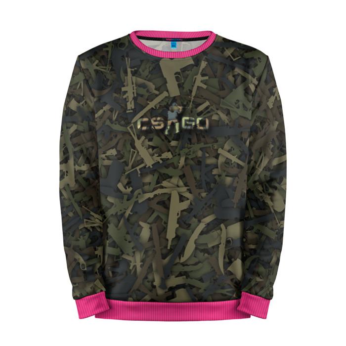 Buy Mens Sweatshirt 3D: CS:GO Weapons Camouflage Counter Strike Merchandise collectibles
