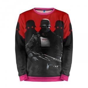 Buy Mens Sweatshirt 3D: Wolfenstein Art gaming merchandise collectibles