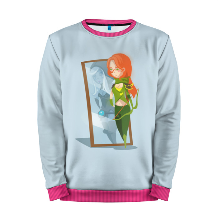 Buy Mens Sweatshirt 3D: Mirror Windranger Dota 2 jacket merchandise collectibles