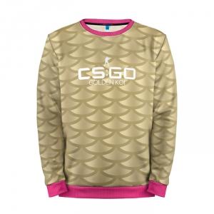 Buy Mens Sweatshirt 3D: cs:go Golden Koi Counter Strike Merchandise collectibles