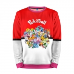Collectibles Sweatshirt Pokeball Pokemon Go Red All Of Them