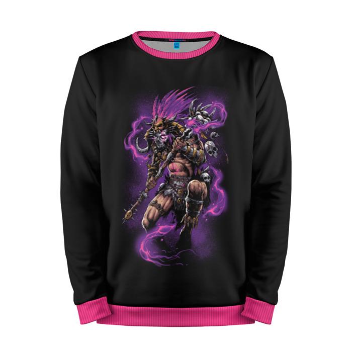 Buy Mens Sweatshirt 3D: Deadly spell Diablo merchandise Merchandise collectibles