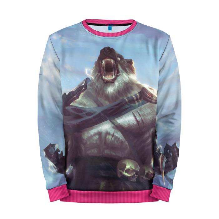 Buy Mens Sweatshirt 3D: Roar Bear League Of Legends merchandise collectibles