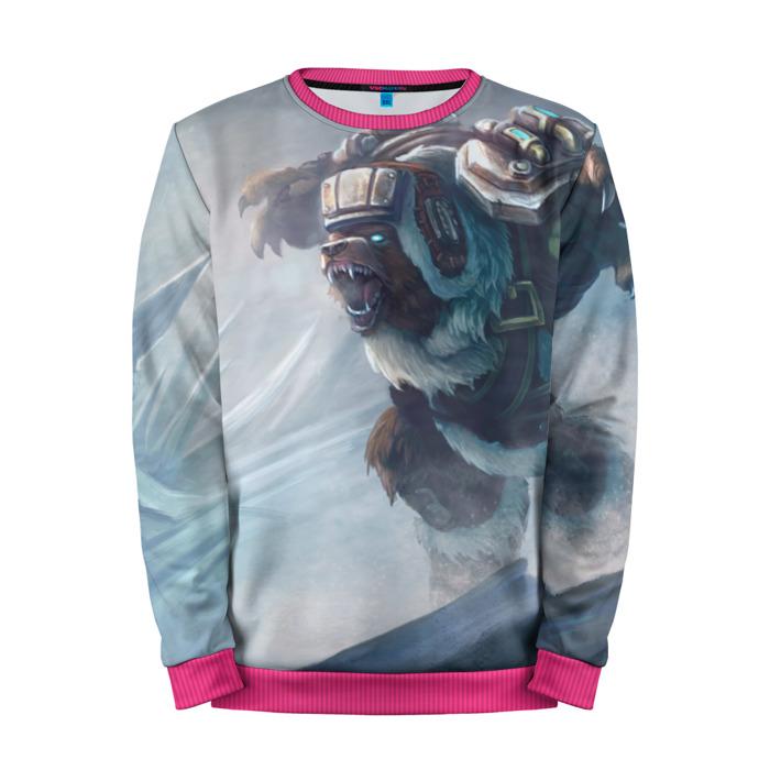 Buy Mens Sweatshirt 3D: Russian Bear League Of Legends merchandise collectibles