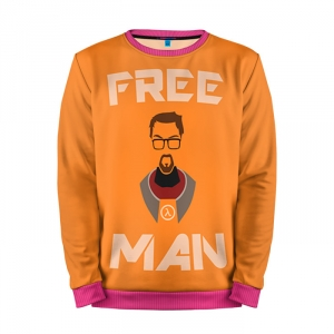 Buy Mens Sweatshirt 3D: Half Life Freeman merchandise collectibles