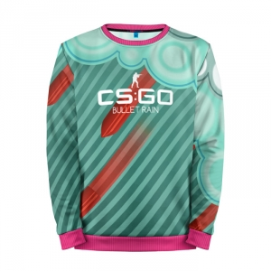Buy Mens Sweatshirt 3D: cs:go Bullet rain Дождь из пуль Counter Strike merchandise collectibles