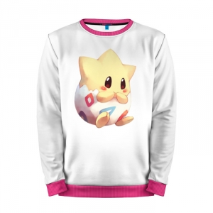 Buy Mens Sweatshirt 3D: Pokemon Go White