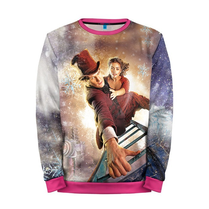 Buy Mens Sweatshirt 3D: Winter Dr. Who Doctor Who Matt Smith Merchandise collectibles
