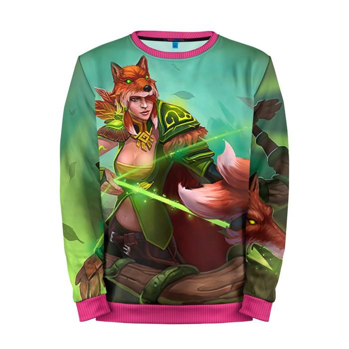 Buy Mens Sweatshirt 3D: Windranger Dota 2 jacket merchandise collectibles