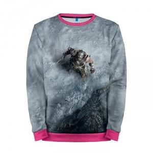 Buy Mens Sweatshirt 3D: Skyrim Dovahkiin Fus ro Dah Merchandise collectibles