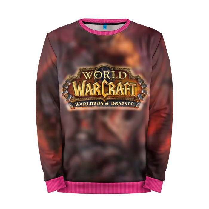 Buy Mens Sweatshirt 3D: WoW: Warlords of Draenor merchandise collectibles