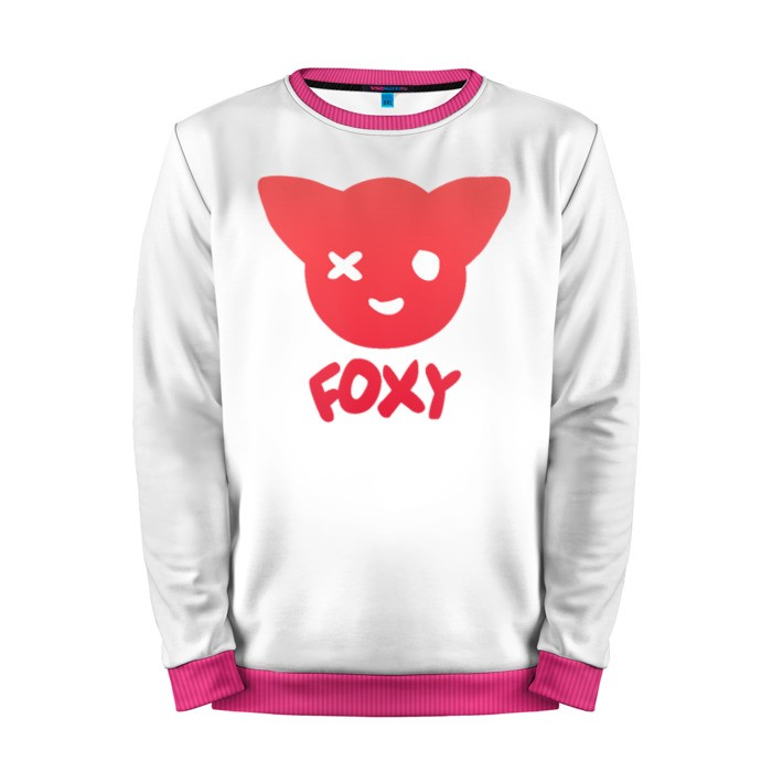 Buy Mens Sweatshirt 3D: Foxy Five Nights At Freddy's Apparel merchandise collectibles