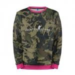 Merch Sweatshirt Cs:go Camouflage Counter Strike