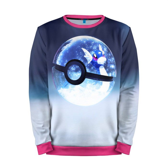 Buy Mens Sweatshirt 3D: Snow one Pokemon Go merchandise collectibles