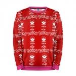 Merch Sweatshirt Red Pattern Pokemon Go