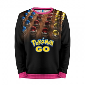 Buy Mens Sweatshirt 3D: Pokemon GO 2 Pokemon Go merchandise collectibles