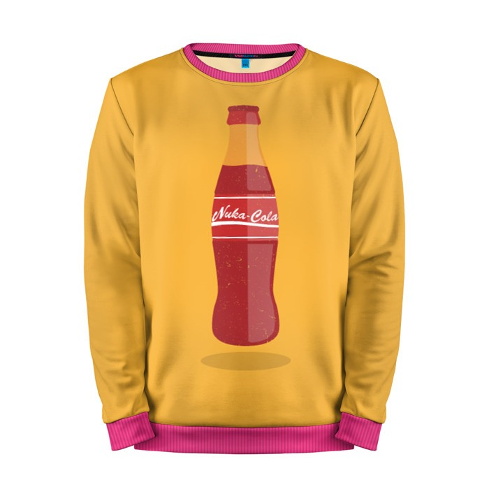 Buy Mens Sweatshirt 3D: Nuka Cola Art Merch Fallout merchandise collectibles
