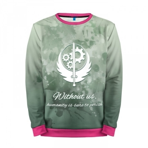 Buy Mens Sweatshirt 3D: Power Brotherhood of Steel Fallout merchandise collectibles