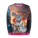 Collectibles Sweatshirt Fan Art Clockwerk Dota 2