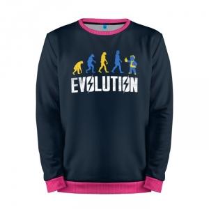Buy Mens Sweatshirt 3D: Vault Evolution Fallout merchandise collectibles