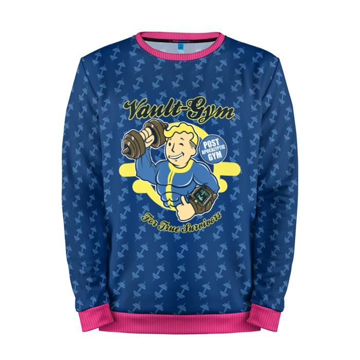 Buy Mens Sweatshirt 3D: Vault Gym Fallout merchandise collectibles