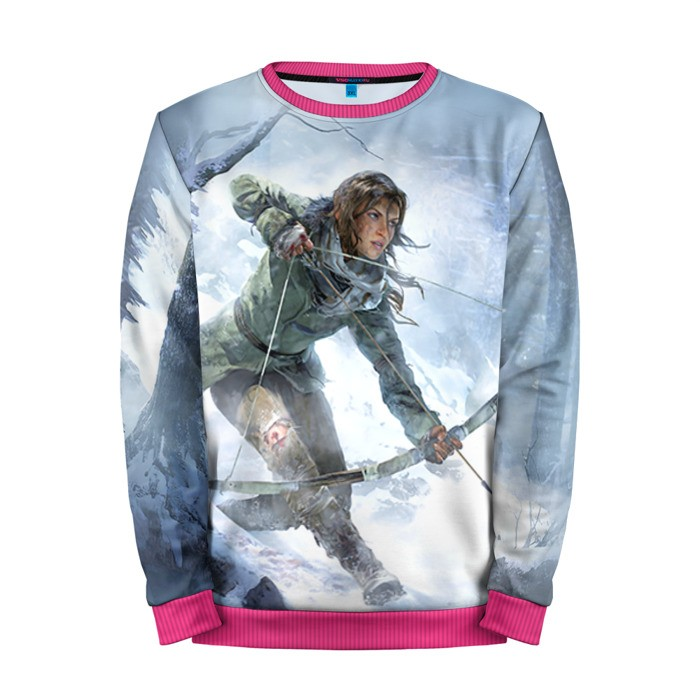 Buy Mens Sweatshirt 3D: Rise of the Tomb raider Lara Croft 3 Merchandise collectibles
